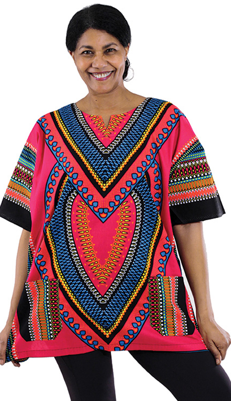Heritage C-U919-PI ( 1pc Heart Of Africa Dashiki )