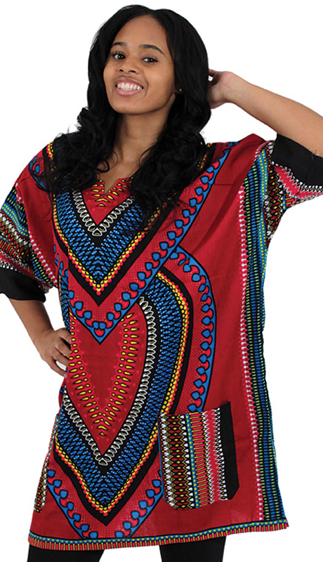 Heritage C-U919-BP ( 1pc Heart Of Africa Dashiki )
