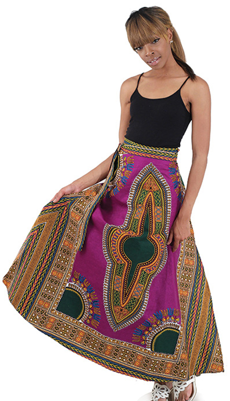 Heritage C-WF905-PP ( 1pc Adjustable Wrap Skirt )
