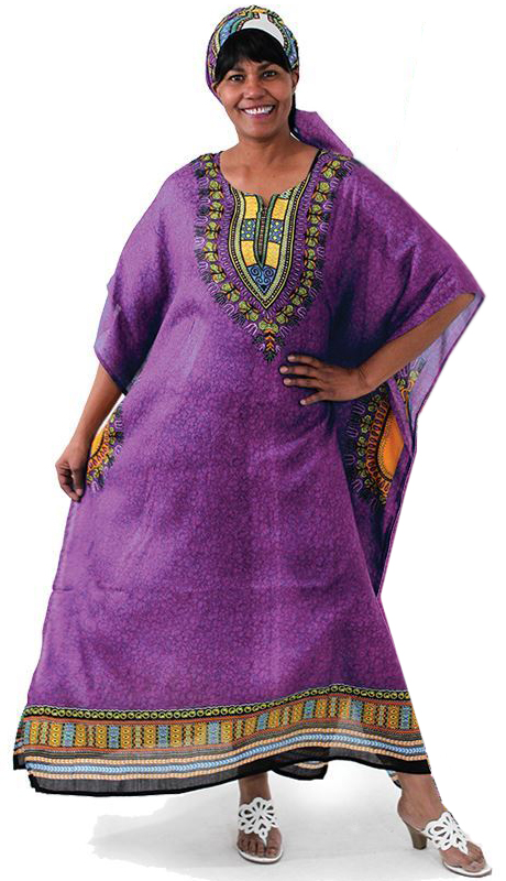 Heritage C-WF304-PU ( 1pc Traditional Kaftan Dress )