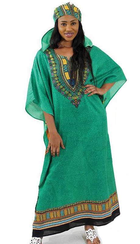 Heritage C-WF304-GR ( 1pc Traditional Kaftan Dress )
