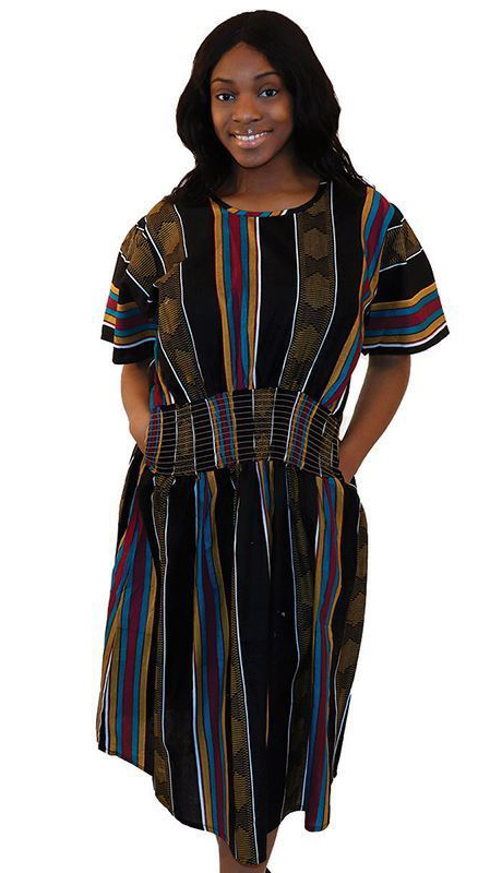 Heritage C-WF399-BP ( 1pc Kente Mother Dress )