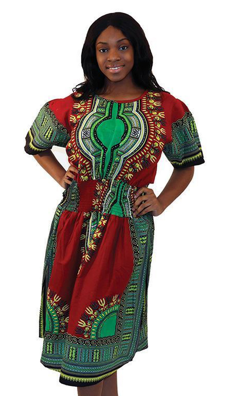 Heritage C-WF398-RP ( 1pc Kente Mother Daughter Dress )