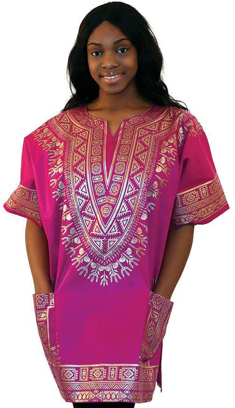 Heritage C-U222-PG ( 1pc Traditional Print Dashiki )