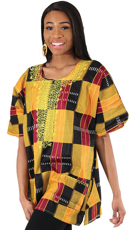 Heritage C-U220-MP ( 1pc Embroidered Kente Dashiki )