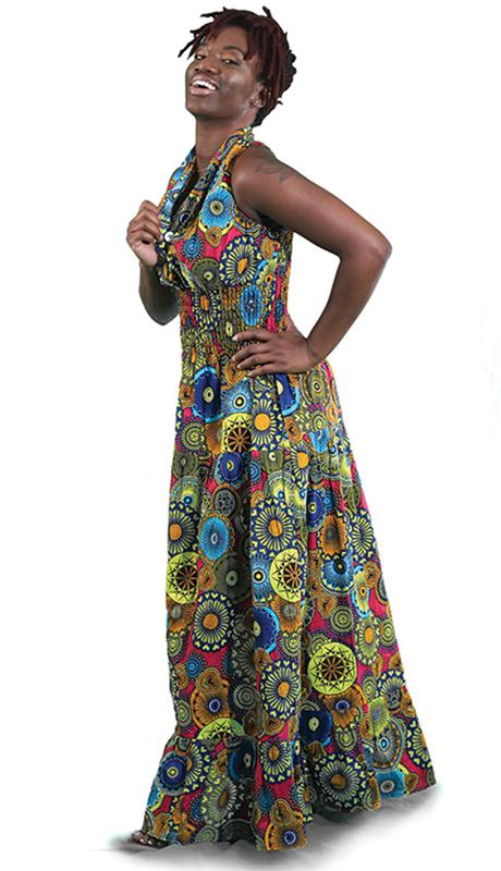 Heritage C-WK046-MP ( 1pc Sleeveless Celebrate Love Dress )