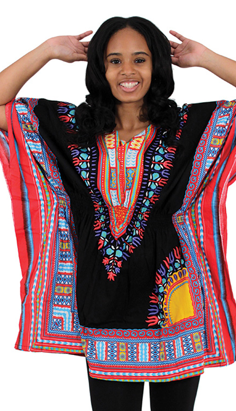 Heritage C-WS851-BLK ( 1pc Traditional Dashiki With Elastic Waist And Authentic Design )