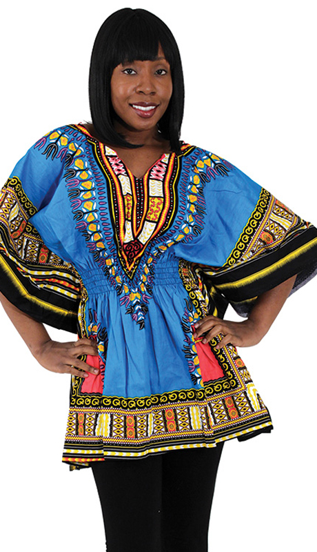 Heritage C-WS851-LB ( 1pc Traditional Dashiki With Elastic Waist And Authentic Design )