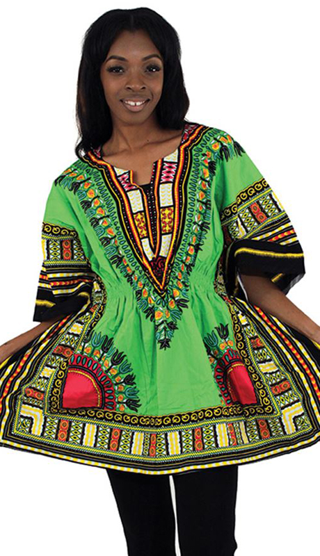 Heritage C-WS851-L ( 1pc Traditional Dashiki With Elastic Waist And Authentic Design )