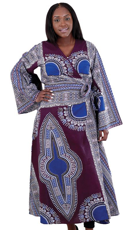 Heritage C-WH143 ( 1pc Dashiki Dress )