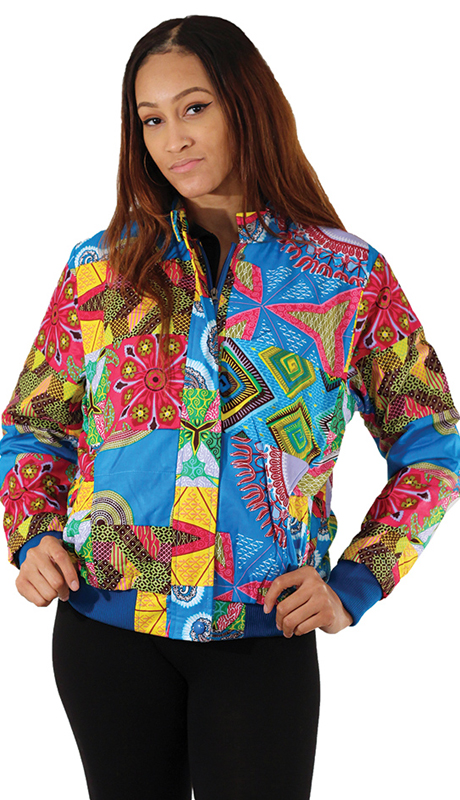 Heritage C-U217 ( 1pc Blue Patchwork Jacket )