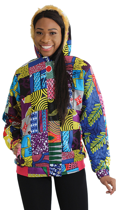 Heritage C-U208 ( 1pc African Patchwork Coat )