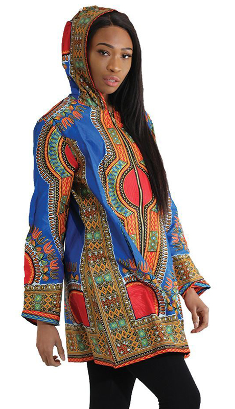 Heritage C-U204 ( 1pc Traditional Print Long Hoodie )