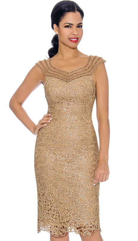 Annabelle 8699-GO ( 1pc Special Occasion Dress )