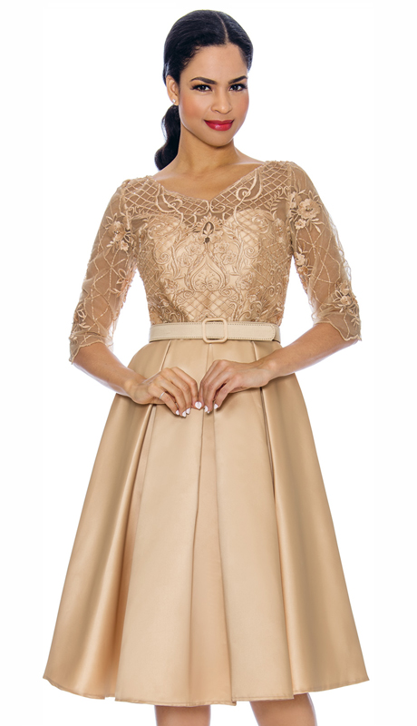 Annabelle 8695-CH ( 1pc Special Occasion Dress With Intricate Design Bodice )