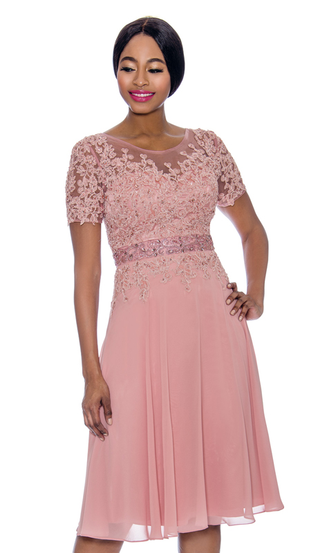 Annabelle 8693-RO ( 1pc Special Occasion Dress With Intricate Design Bodice )