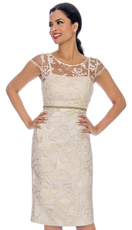 Annabelle 8705-CH ( 1pc Special Occasion Dress With Intricate Design Bodice )