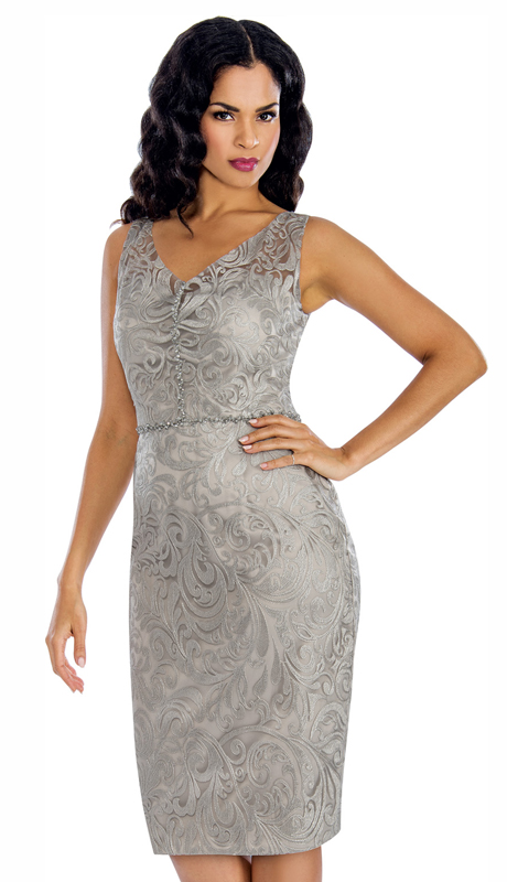 2812d1d5aad6 Style  Annabelle 8618-SI ( 1pc Sleeveless Lace Design Special Occasion Dress  )