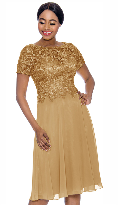 Annabelle 8693-GO ( 1pc Special Occasion Dress With Intricate Design Bodice )