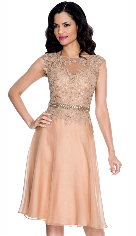 Annabelle 8547-OR ( 1pc Special Occasion Dress With Intricate Design Bodice )