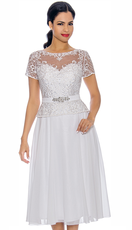 Annabelle 8701-GO ( 1pc Special Occasion Dress With Intricate Design Bodice )
