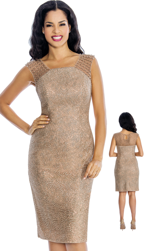 Annabelle 8639 ( 1pc Cocktail Dress W/ Embellishments For The Mother Of The Bride )