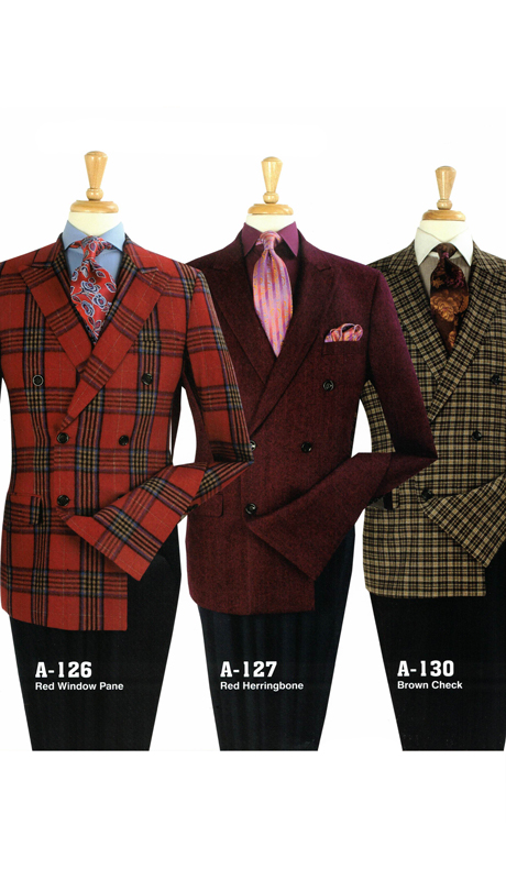 Iconic A-126 ( 1pc Double Breasted Sports Coat, Super 130's )
