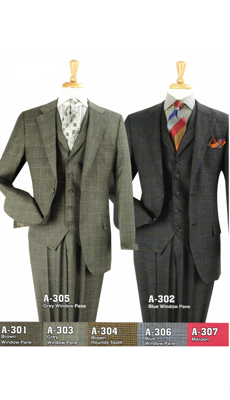Iconic A-305 ( 3pc Set Suits, Super 150's )