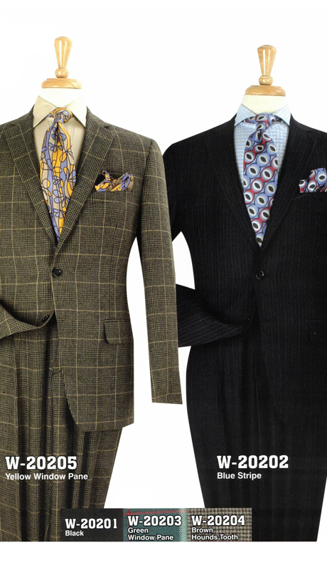 Iconic W-20205 ( 2pc Set Suits, Super 150's )