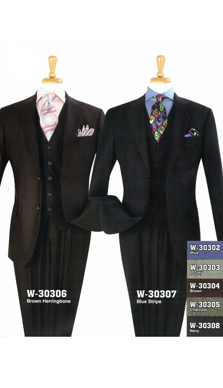 Iconic W-30306 ( 3pc Classic Fit Suit, Super 150's )