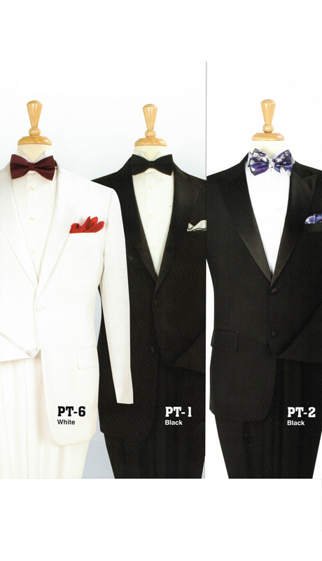 Iconic PT-6 ( 2pc Tuxedo With 2 Buttons And Single Pleated Pants )