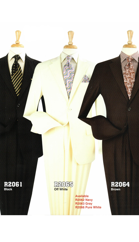 Iconic R2061 ( 2pc Classic Fit Suits, Super 130's )