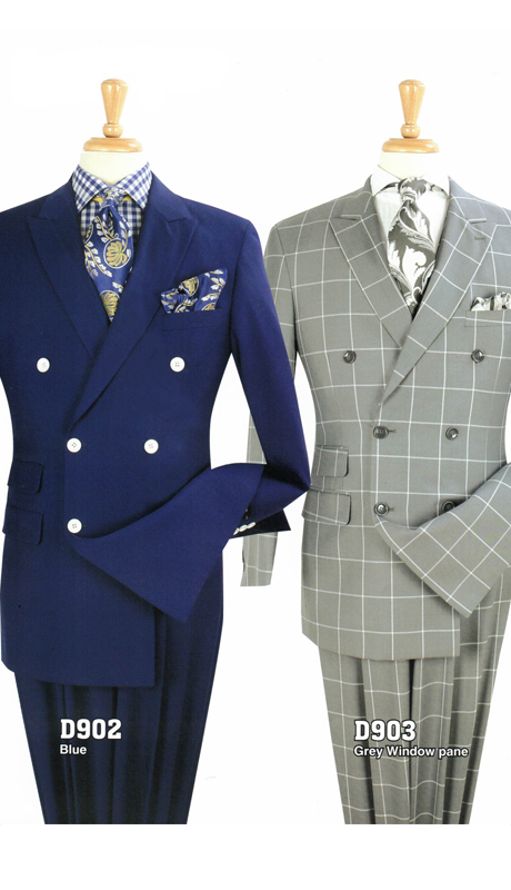Iconic D902 ( 3pc Mens Suit With Vest, Super 150's )