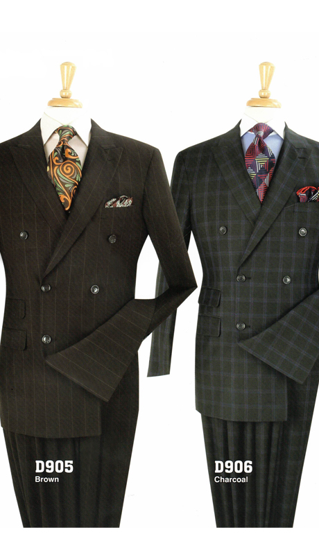 Iconic D905 ( 3pc Mens Suit With Vest, Super 150's )