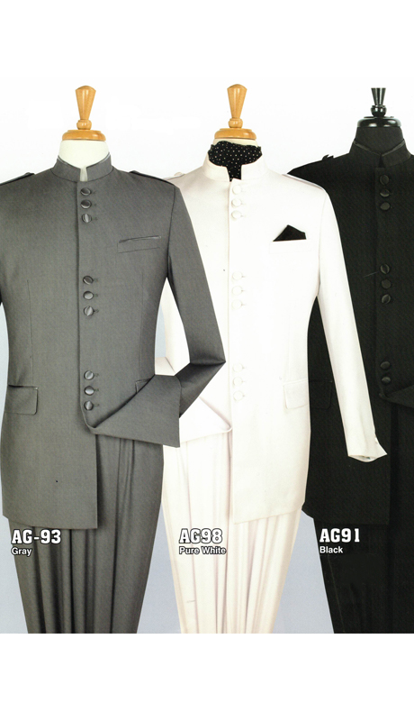 Iconic AG-93 ( 2pc Nine Buttons Nehru Style With Semi Wide Leg Pants )