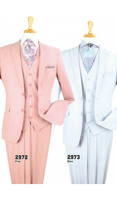 Iconic 2972 ( 3pc Modern Fit Suits, Super 130's )