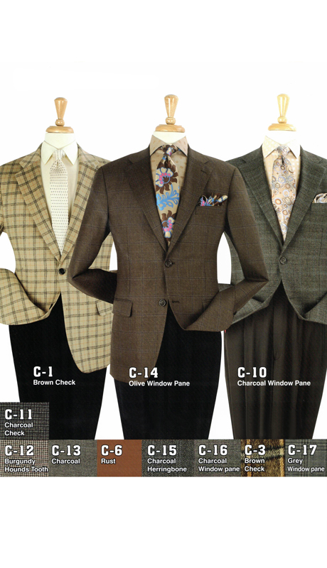Iconic C-1 ( 1pc Sports Coat, Super 130's )