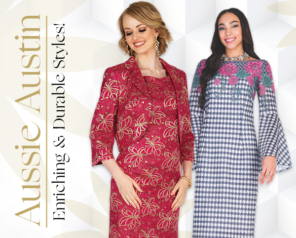Elegant Aussie Austine Ladies Church Attire Spring And Summer 2019