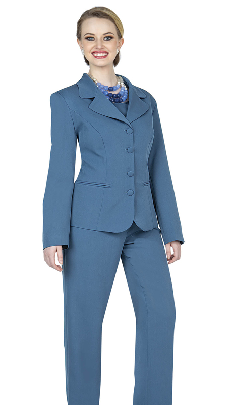 Aussie Austine 844-TB ( 4pc Gabardine Womens Wardrober Set Includes Jacket, Cami, Skirt And Pants )