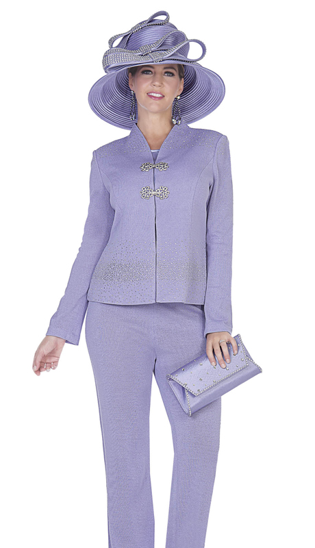 Aussie Austine 5052-LA ( 3pc Exclusive Kit Ladies Pant Suit )