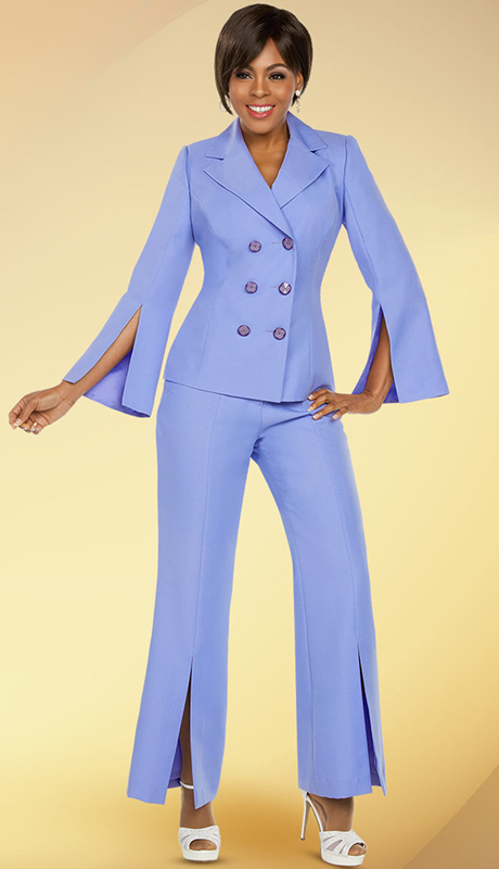 Ben Marc Executive 11771-LI ( 2pc Church And Career Pant Suit )
