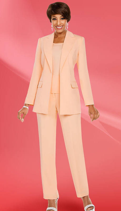 Ben Marc Executive 11769-PE ( 3pc Church And Career Pant Suit )