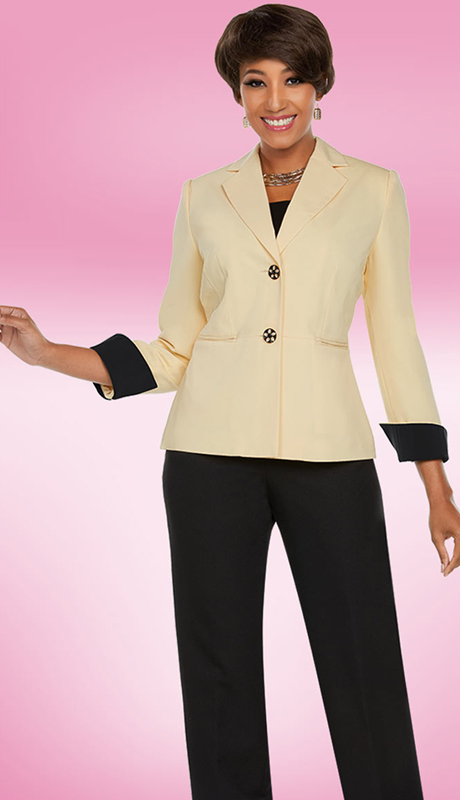 Ben Marc Executive 11768-BB ( 2pc Church And Career Pant Suit )