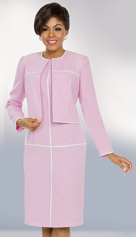 Ben Marc Executive 11794-OW ( 2pc Church And Career Dress )