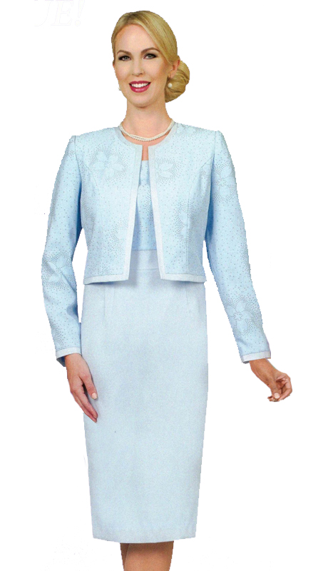 Ben Marc 11548 ( 2pc Womens Dress And Jacket Set For Church )