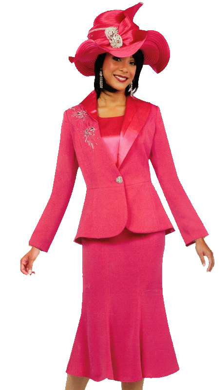 Ben Marc 47712 ( 3pc Church Suit With Embellished Accent Design )