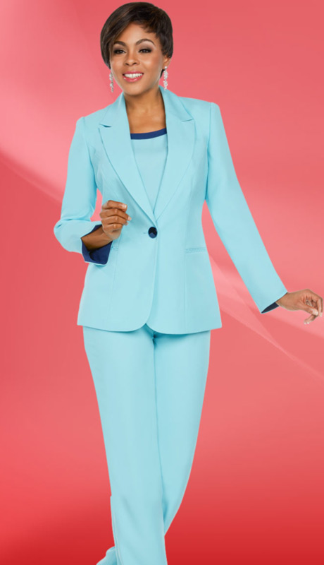 Ben Marc Executive 11767-EL ( 3pc Church And Career Pant Suit )