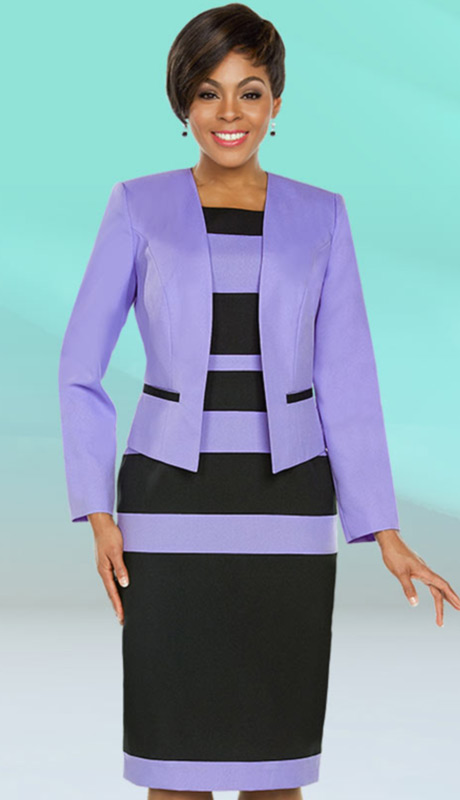Ben Marc Executive 11782-LI ( 2pc Church And Career Dress )
