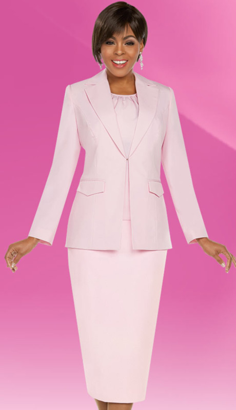 Ben Marc Executive 11757-PI ( 3pc Church And Career Suit )