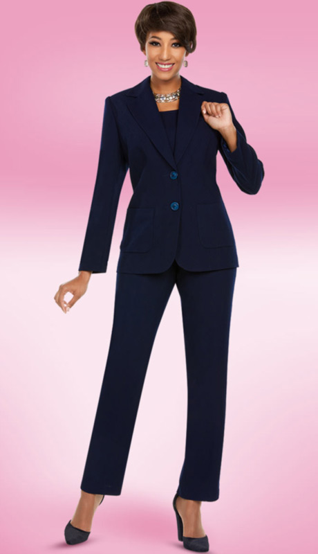 Ben Marc Executive 11765-MI ( 3pc Church And Career Pant Suit )